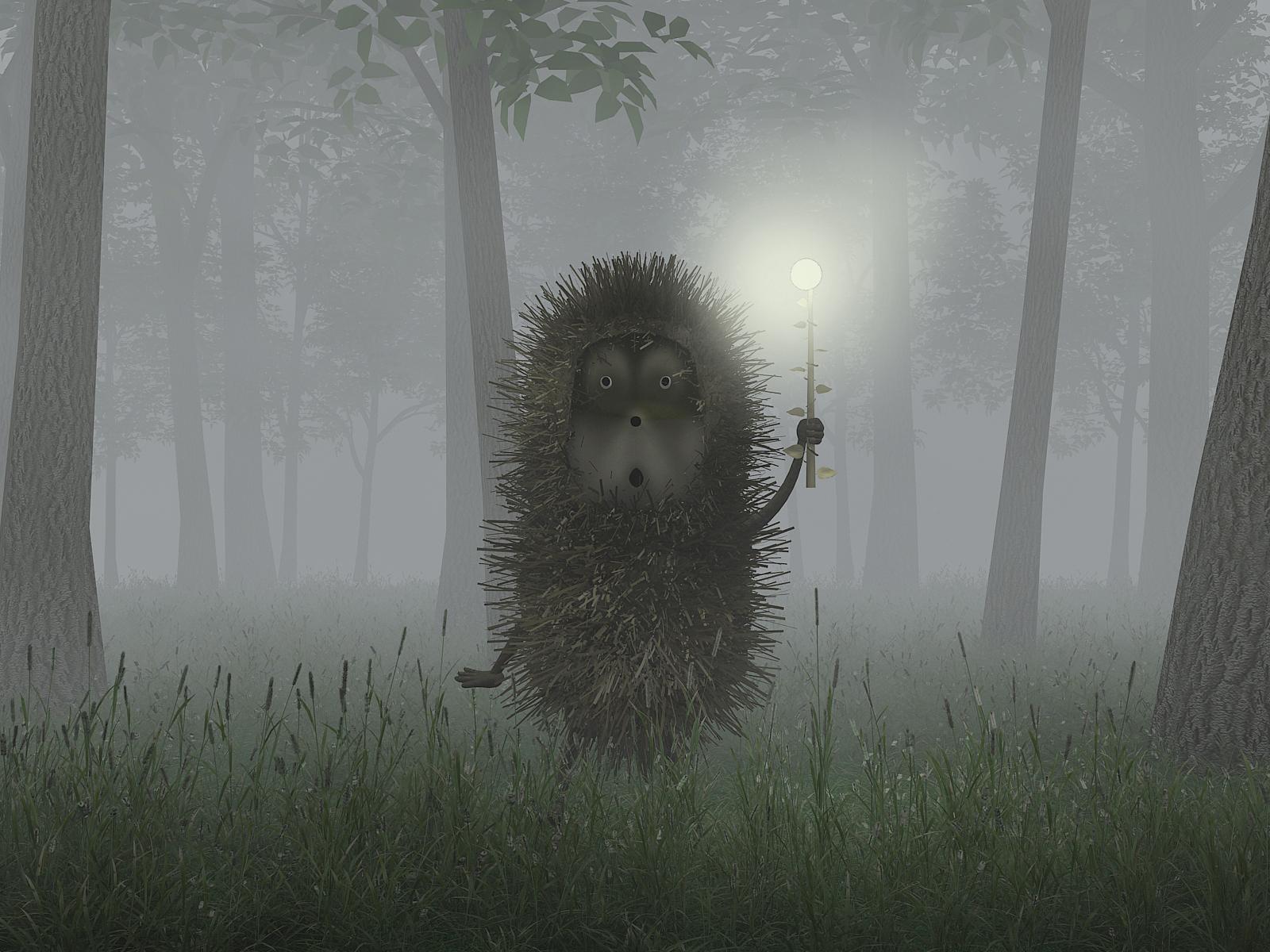 Смотреть онлайн ежик в тумане