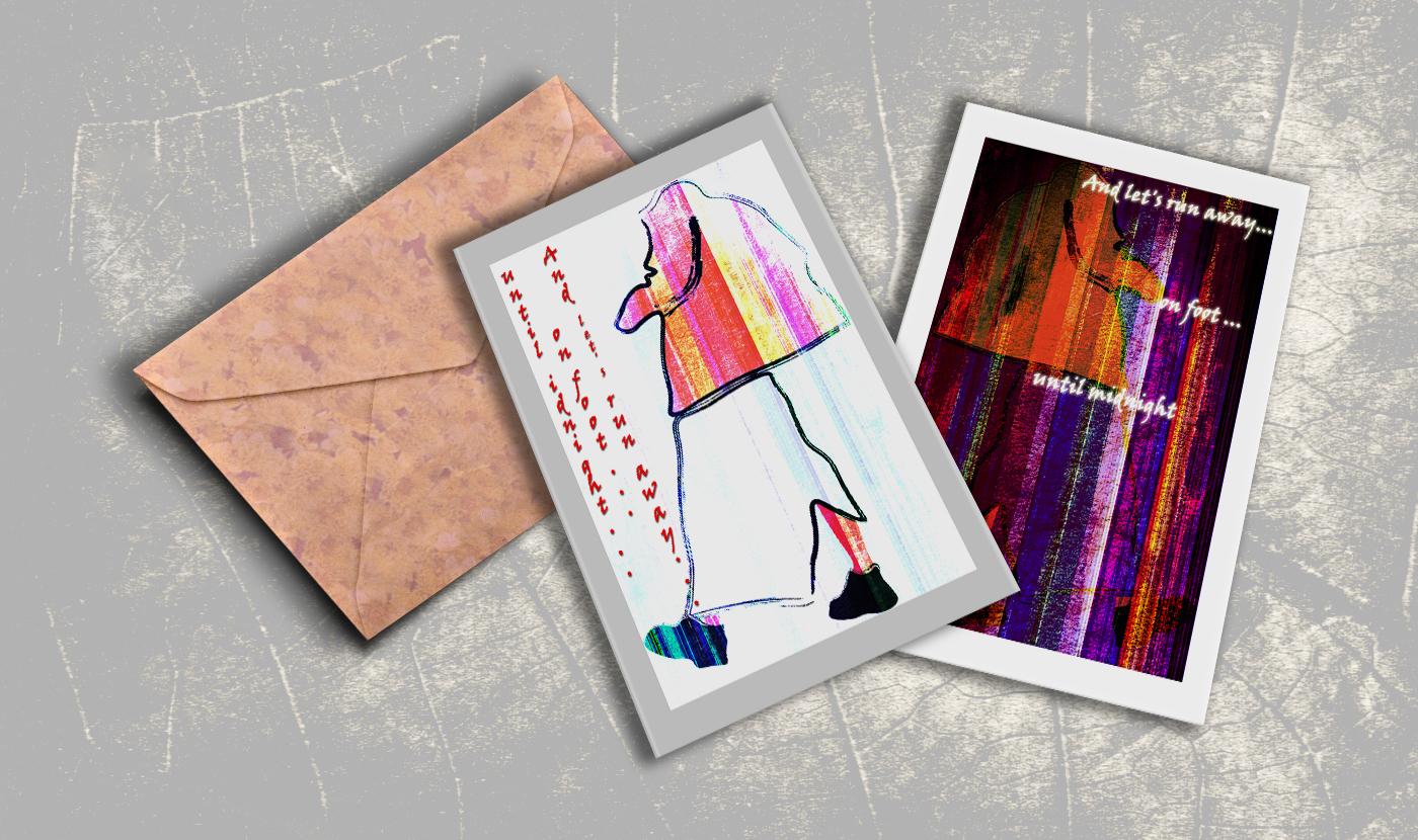 Как сделать двухстороннюю открытку в иллюстраторе, объемная