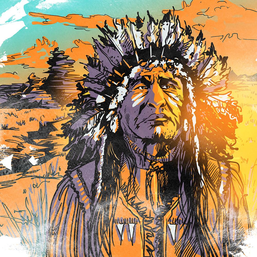 нетребователен почвам, картинки с индейской тематикой товаров