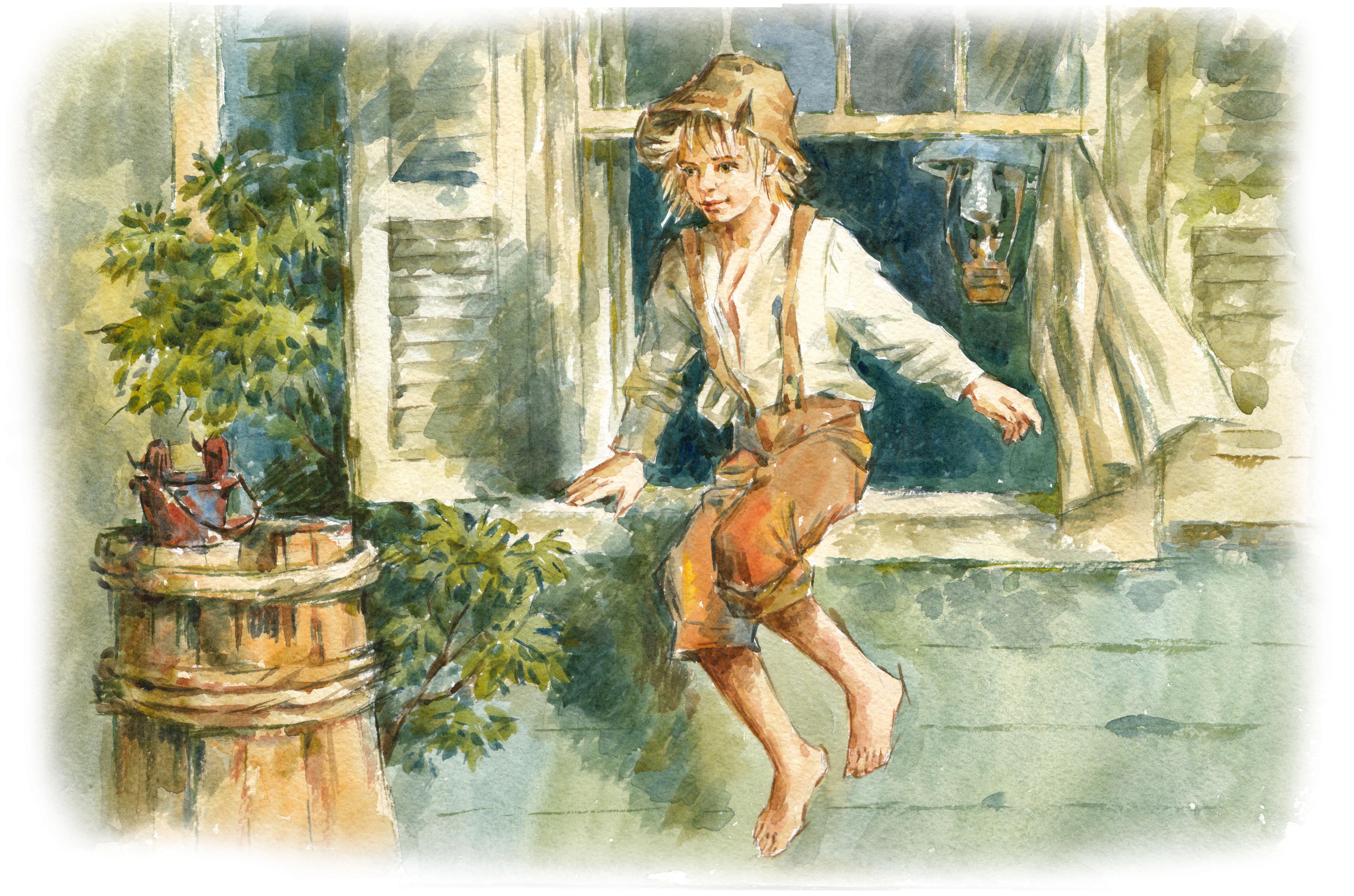 Гекльберри финн картинки из книги