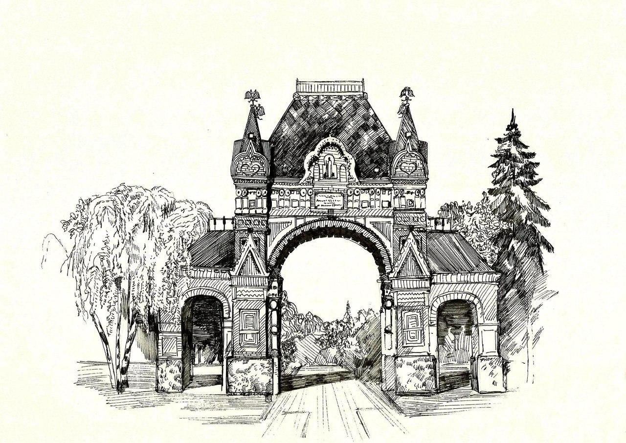 Краснодар город рисунок