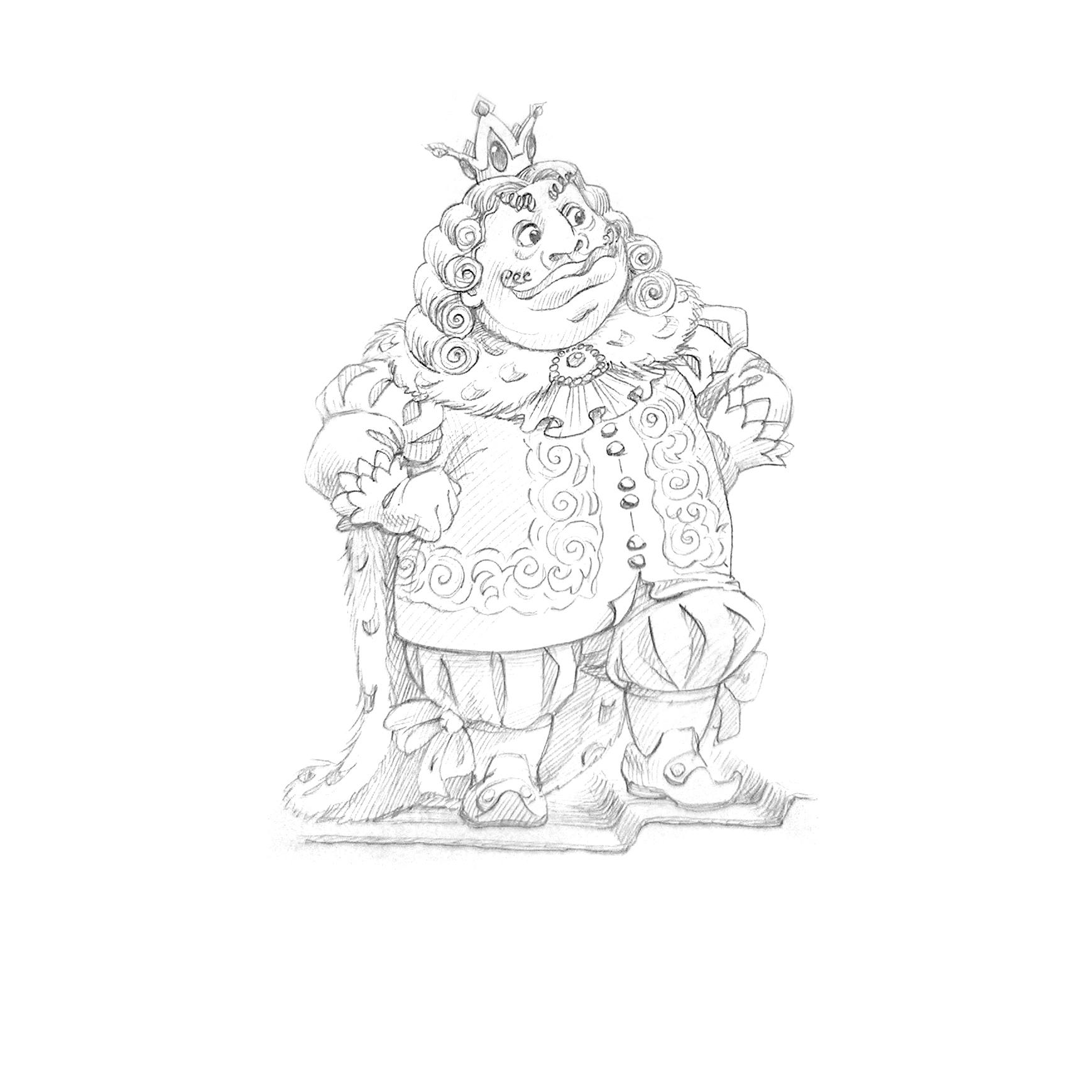 Картинки королевство кривых зеркал карандашом