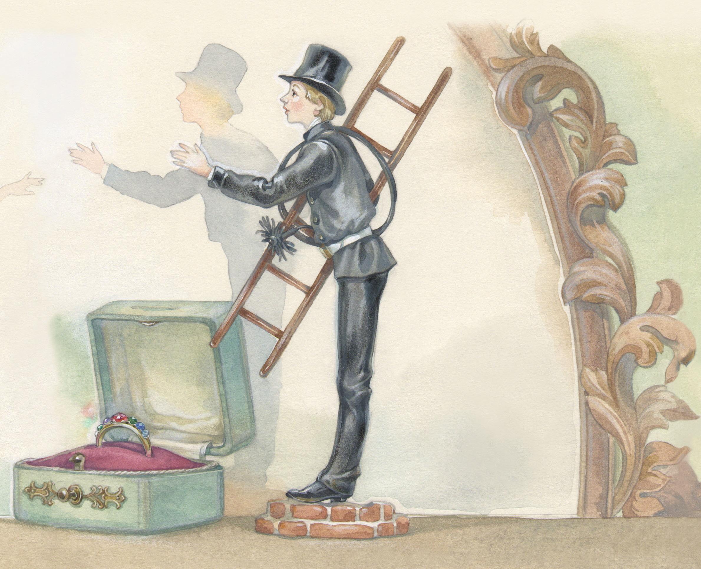 Картинки к сказке пастушка и трубочист