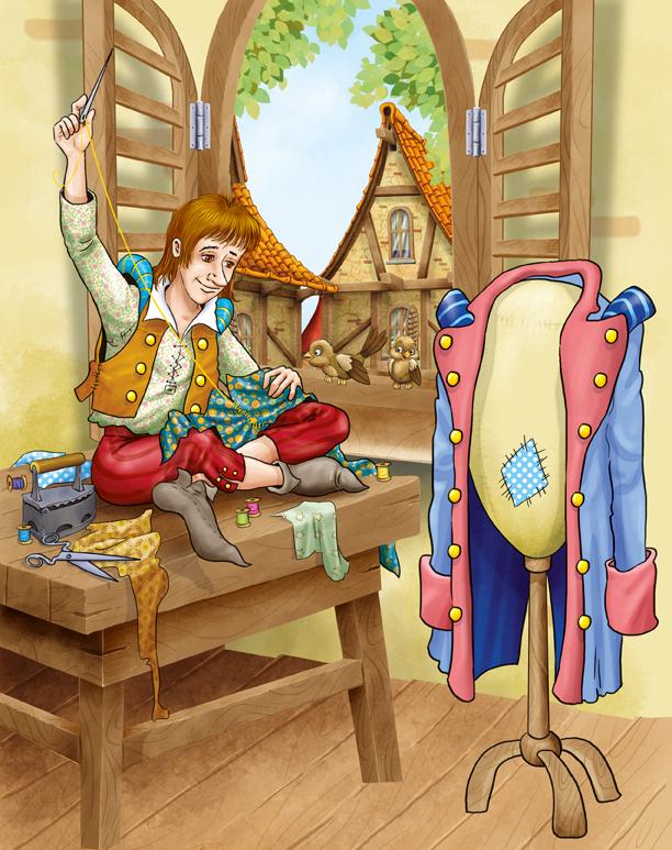 Храбрый портняжка картинка для детей