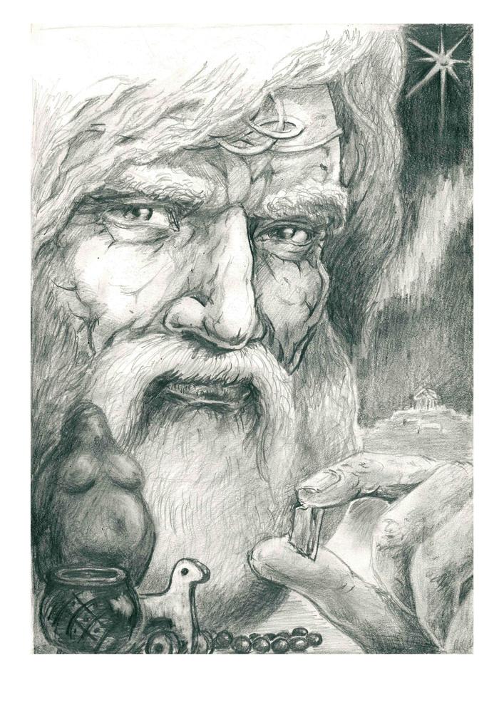 картинки велеса карандашом образе