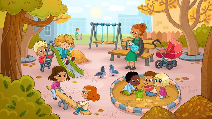 Площадки для детей картинки