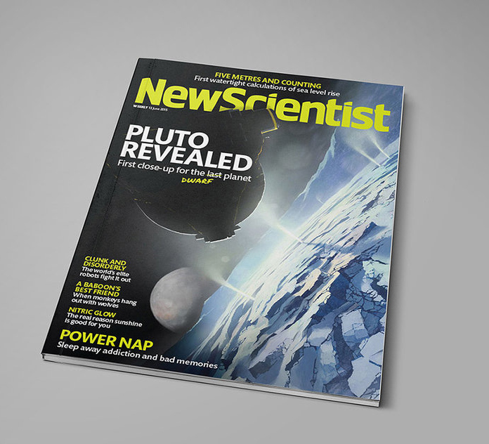 Main cover image for new scientist magazine by alexandreev d8wr06f