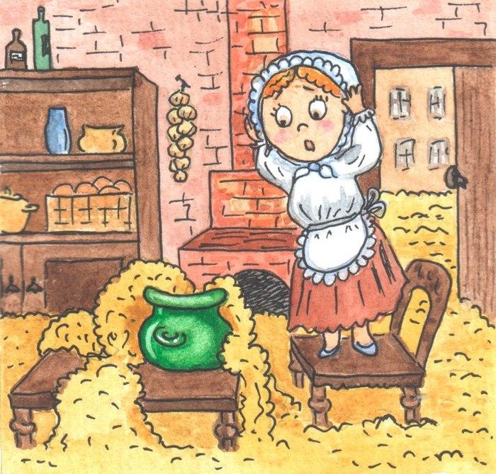 Картинки волшебный горшок