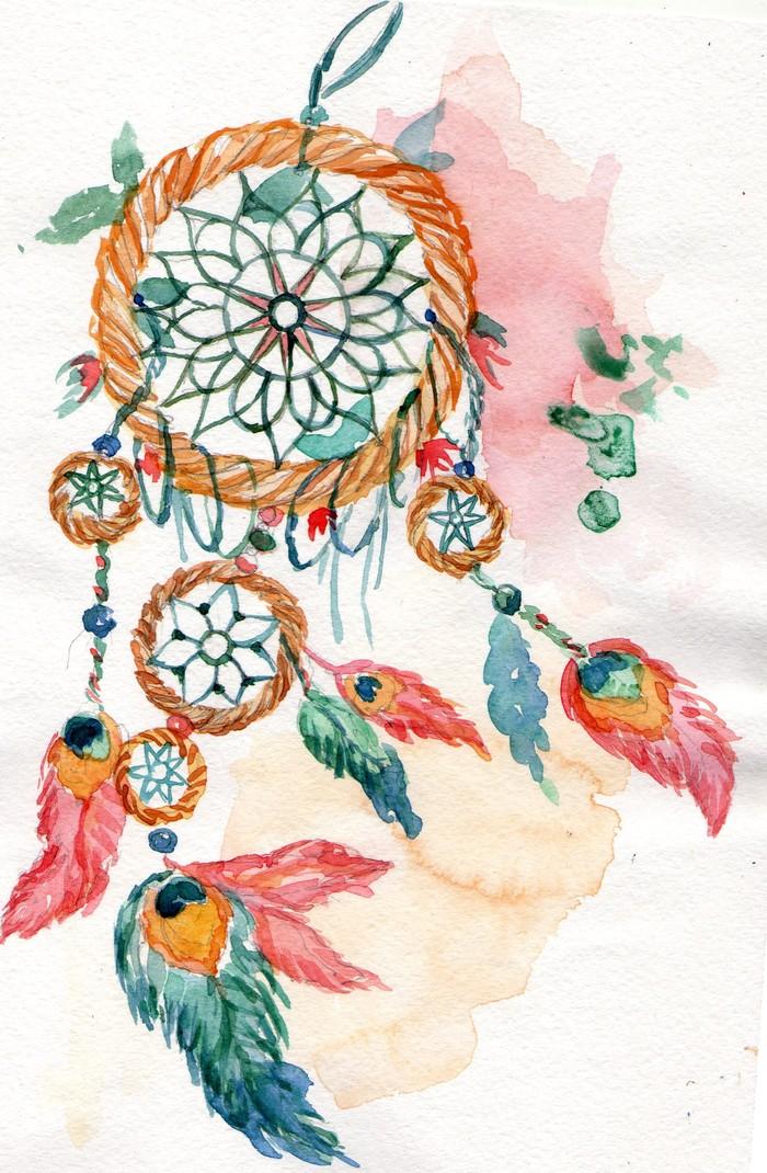 Картинки ловец снов для скрапбукинга