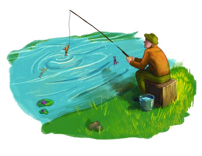 более рыбалка картинки мультяшные голых голых толстушек