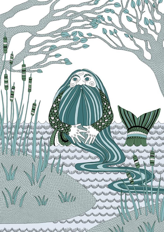 Картинки про водяного