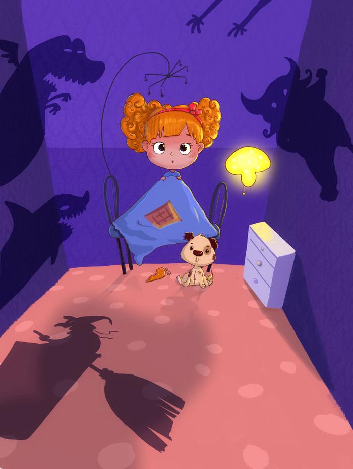 Картинки рисованные детские страхи