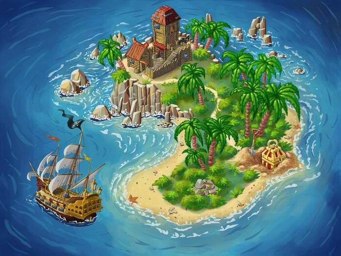 Картинки карты островов