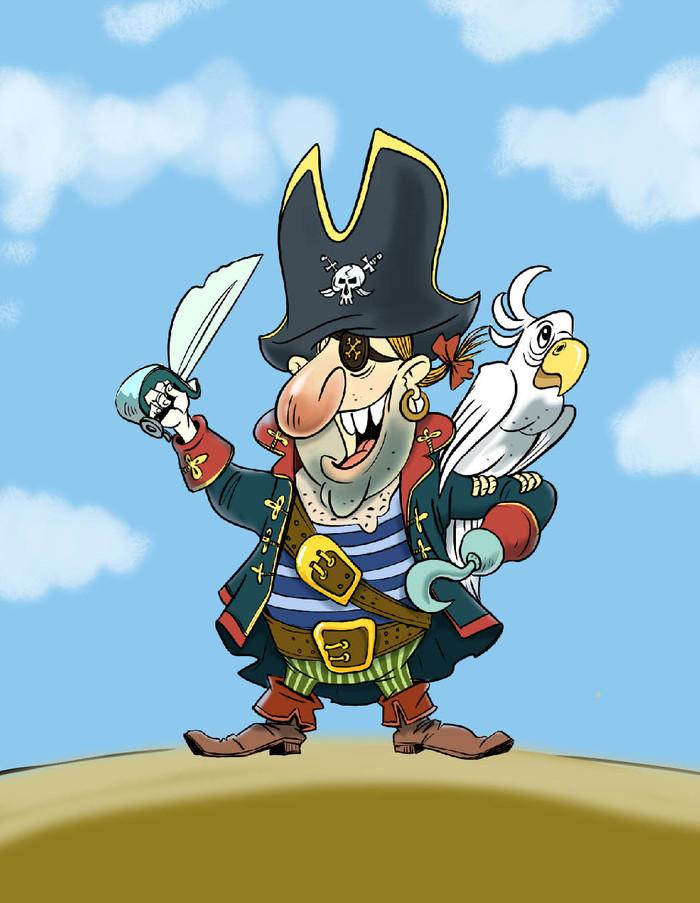 Картинка прикольные пиратов