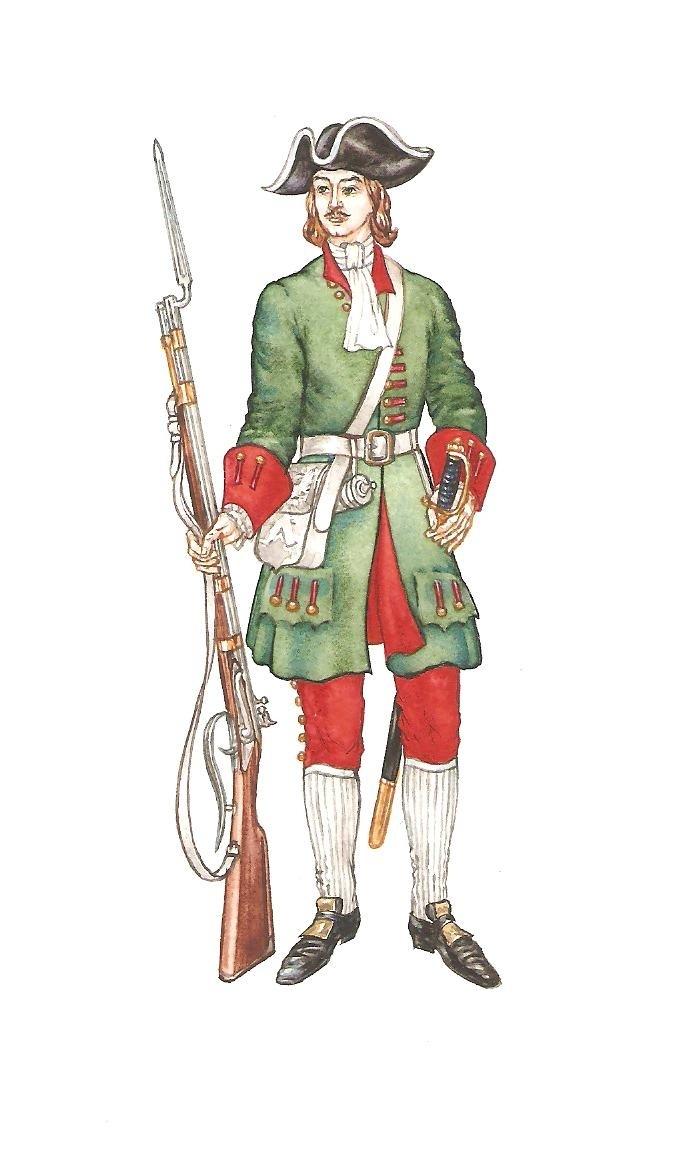 солдат петровских времен картинки