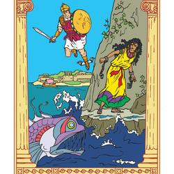 рисунок персея и андромеды
