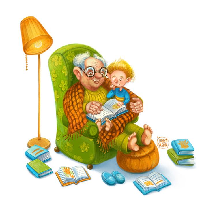 Женщине, любимому внуку от бабушки открытки