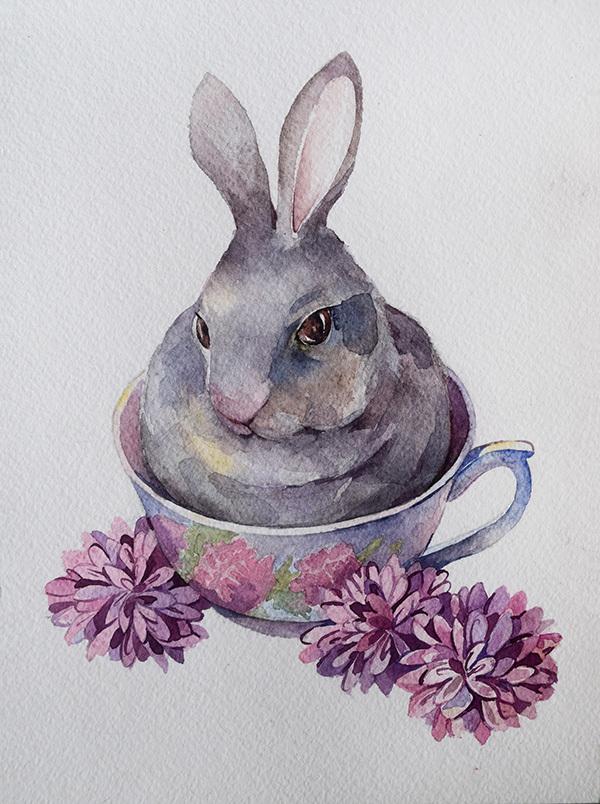 производстве кролики в кружках картинки английского языка, как