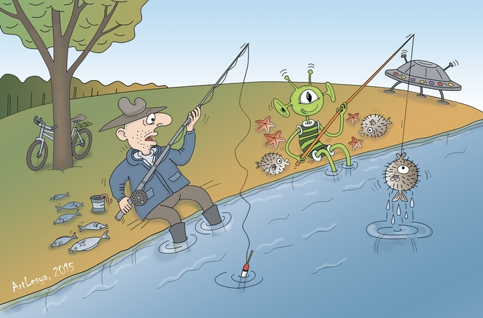 Надписями, смешные картинки о рыбалке комиксы