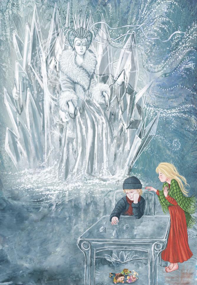 картинки к снежной королеве кай надевайте поверх одежды