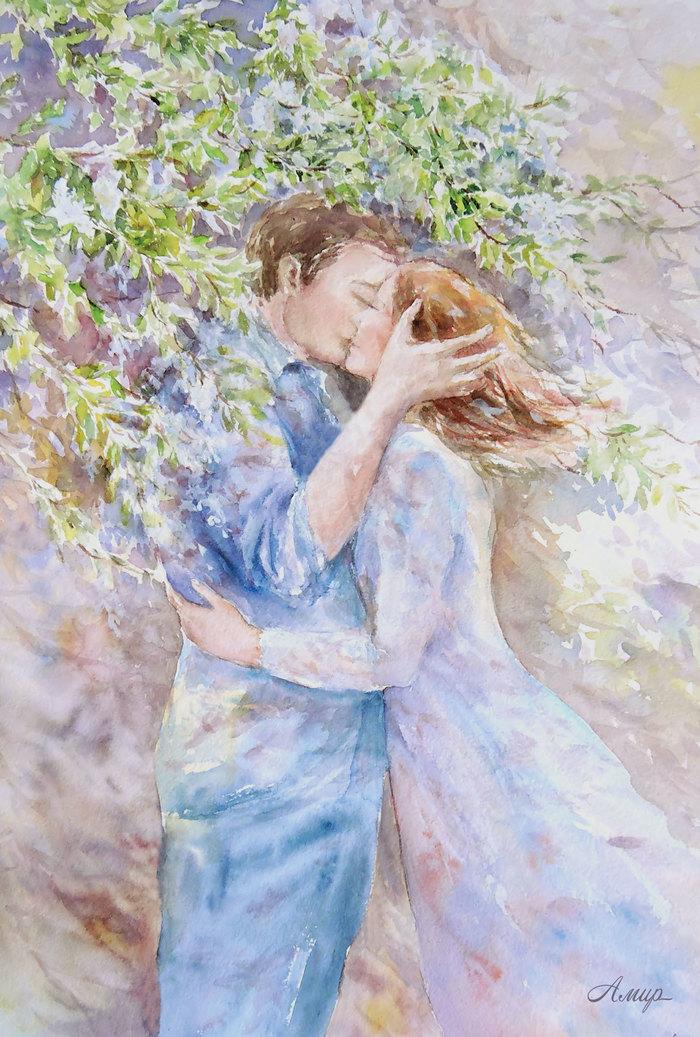 Поцелуй весны открытки и картинки