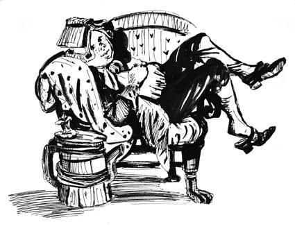 иллюстрации к недорослю