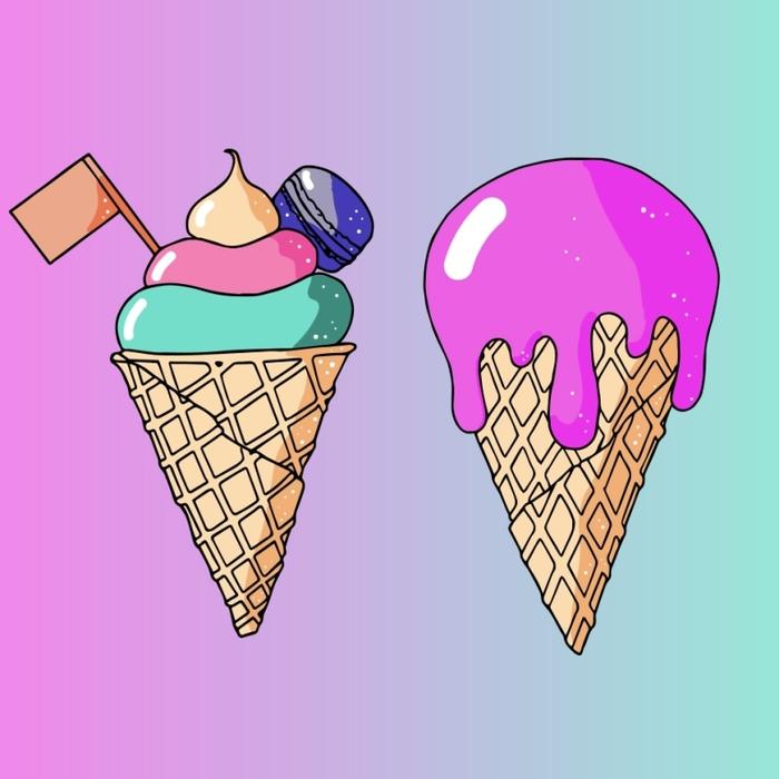 картинка маленькое мороженое как-то
