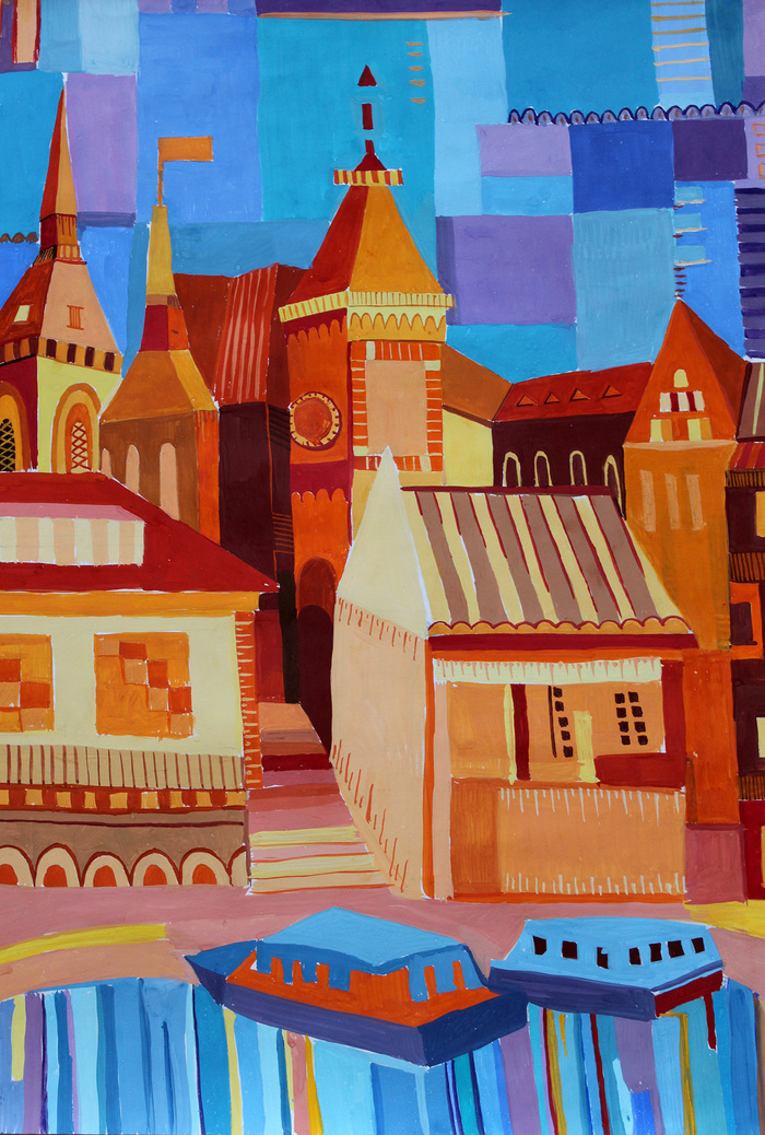 Композиция картинки города