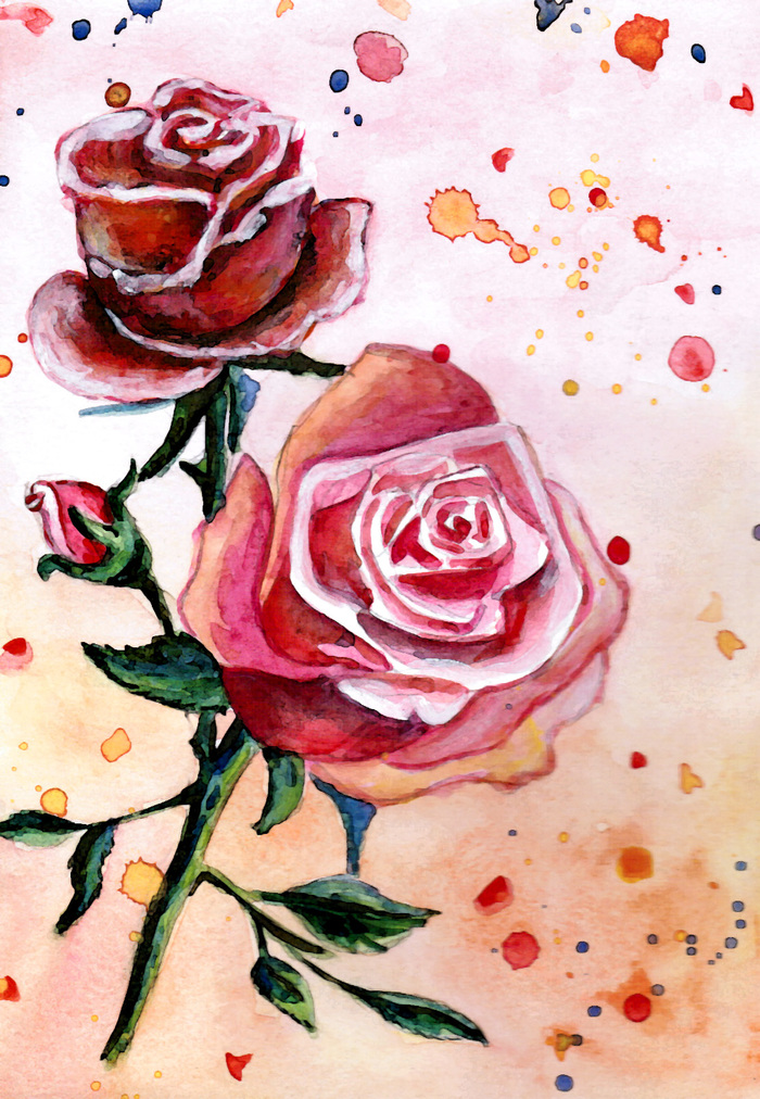 рисовать рисунки розы абб есть селективный