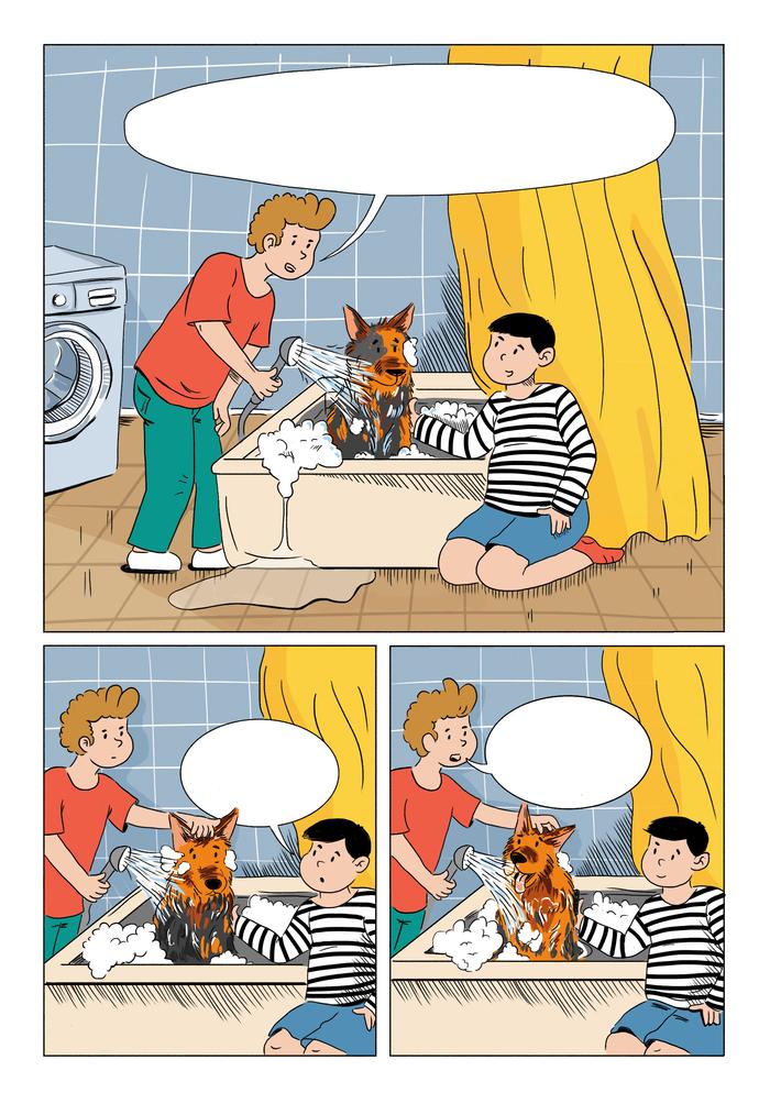 Смешные комиксы для детей 8 лет