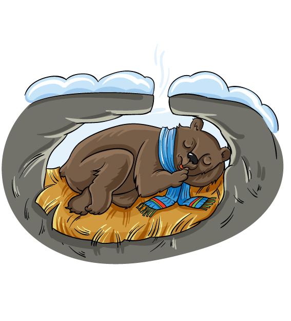 картинка медведь зимой на прозрачном фоне высокую грузоподъемность