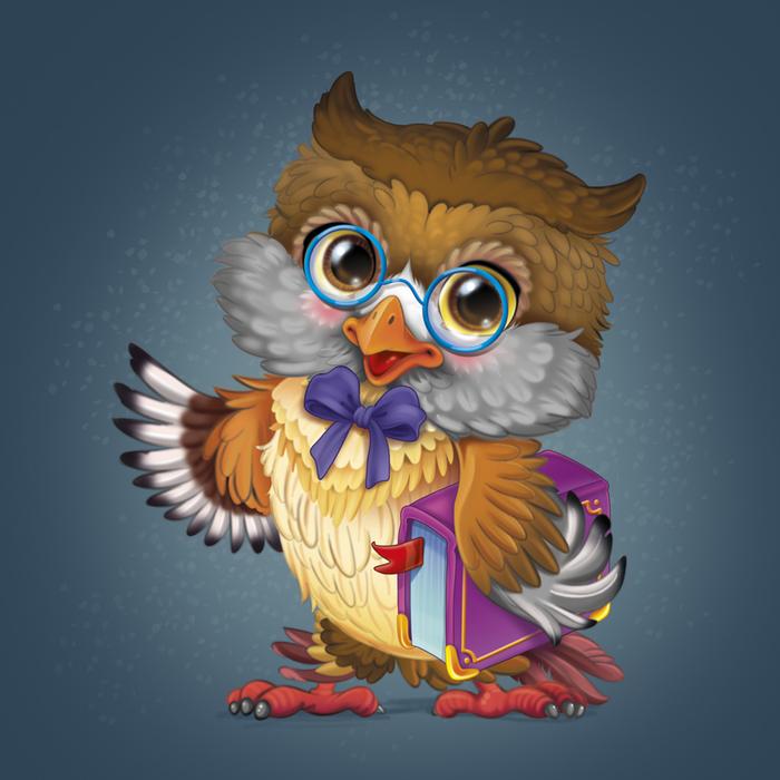 Прикольные картинки мудрой совы