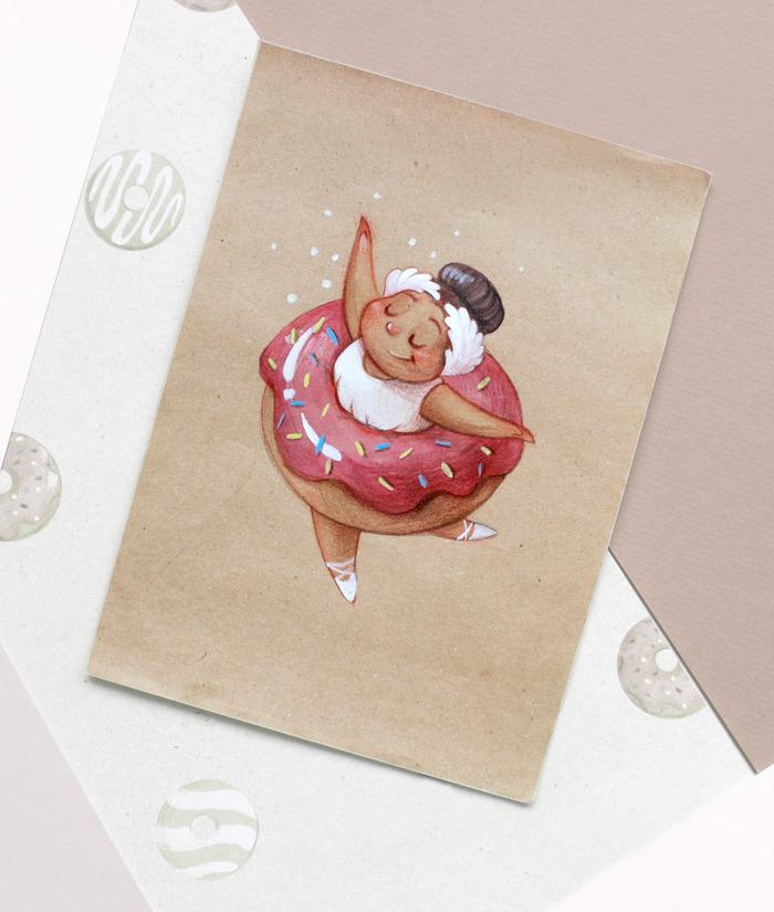 Открытка ручной, анна ломакина открытки