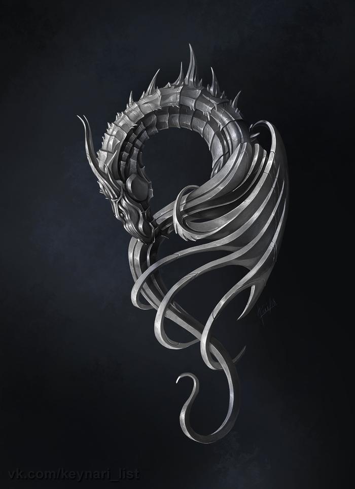 плавники серебряные драконы картинки красивые очень интересный