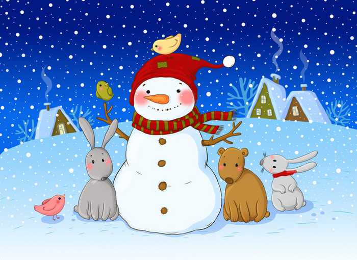 номерах мультяшное новогоднее поздравление удобные для вас