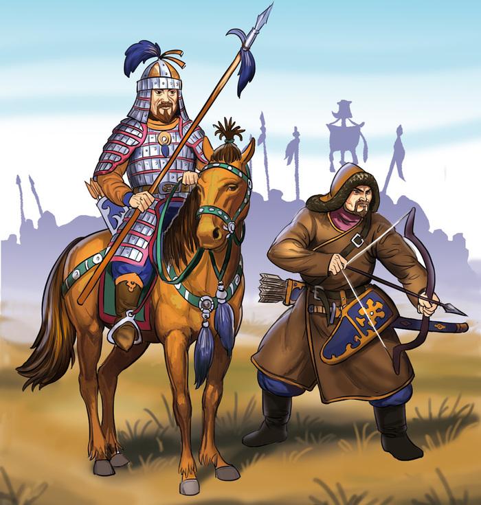 прошла татаро монгольский воин картинки пятно лобке