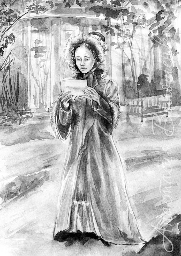 Иллюстрации к сказке барышня крестьянка