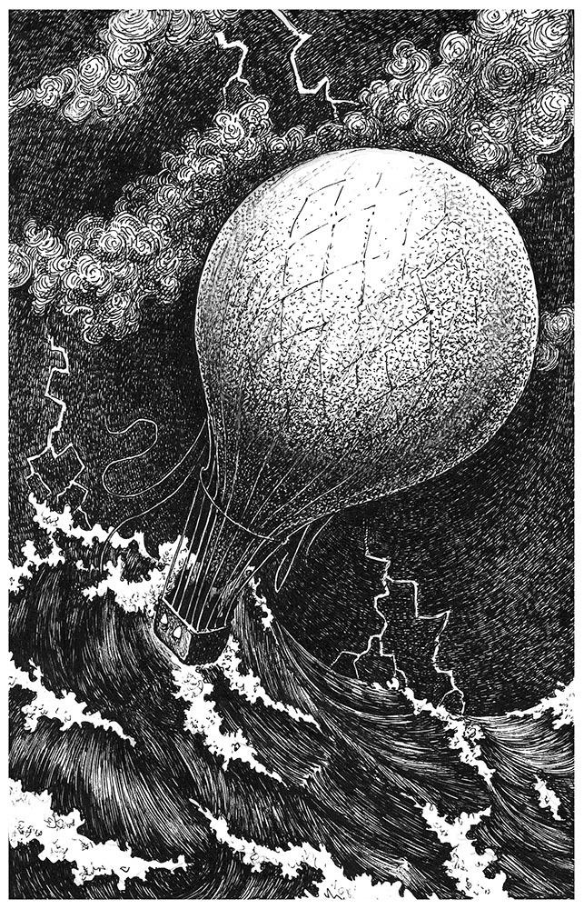 Иллюстрации к таинственному острову