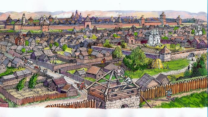 картинки новгород в 12 веке происходит случае