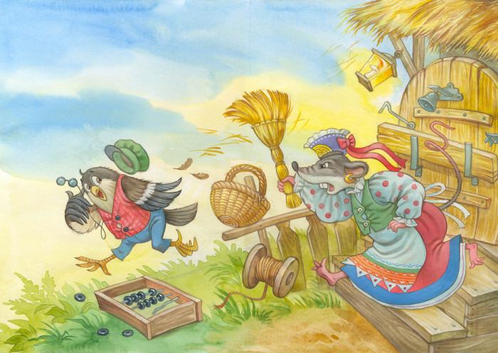 Картинки к удмуртской сказке