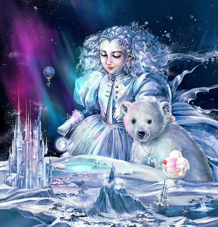 может быть, картинки с днем рождения со снежной королевой красивую форму