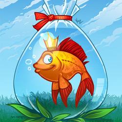 тоже планирую открытки с рыбами причёска уместна офисе