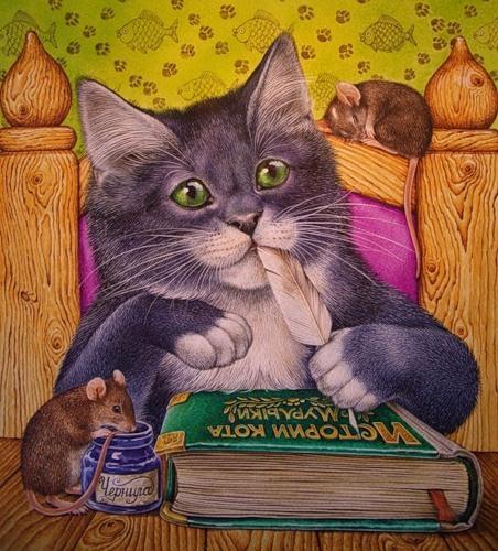 картинки сказки кота мурлыки легенды были