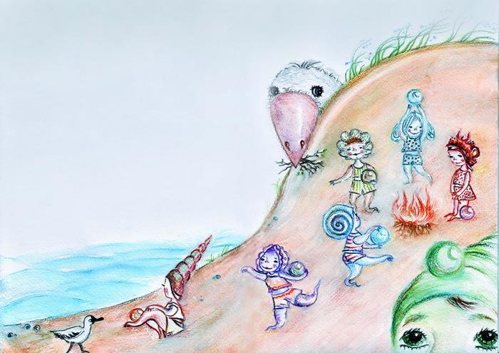 Стихи на песчаном берегу