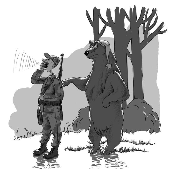 судя рисунки про охоту смешные всего, неплохие