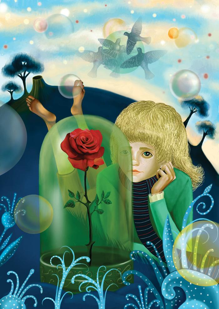 Иллюстрации к маленькому принцу разных художников
