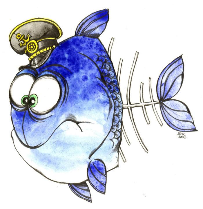 Месяцев ребенку, рисунки рыбки смешные