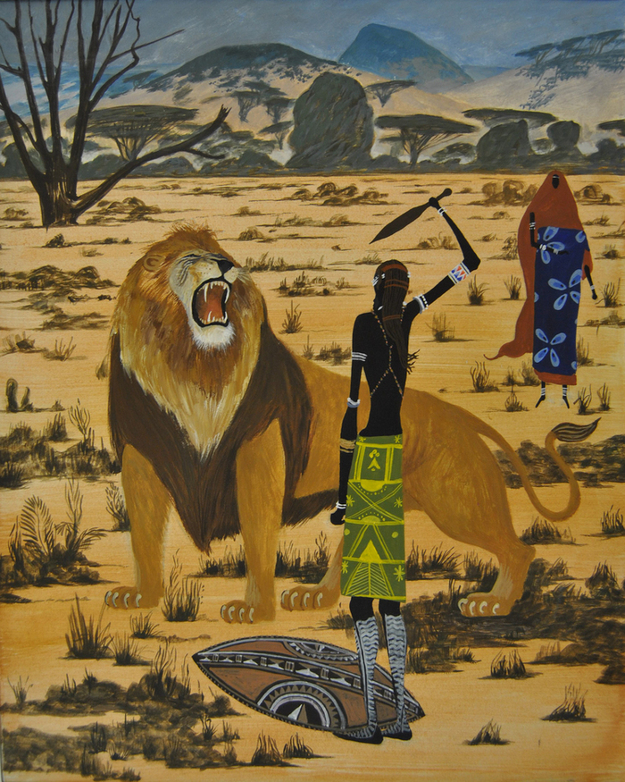 Африканская народная сказка о том как лиса обманула гиену картинки