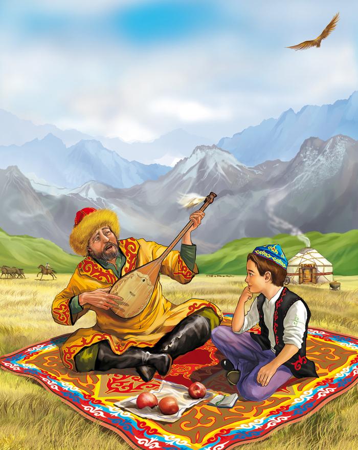 вам картинки о казахском народе популярными блюдами