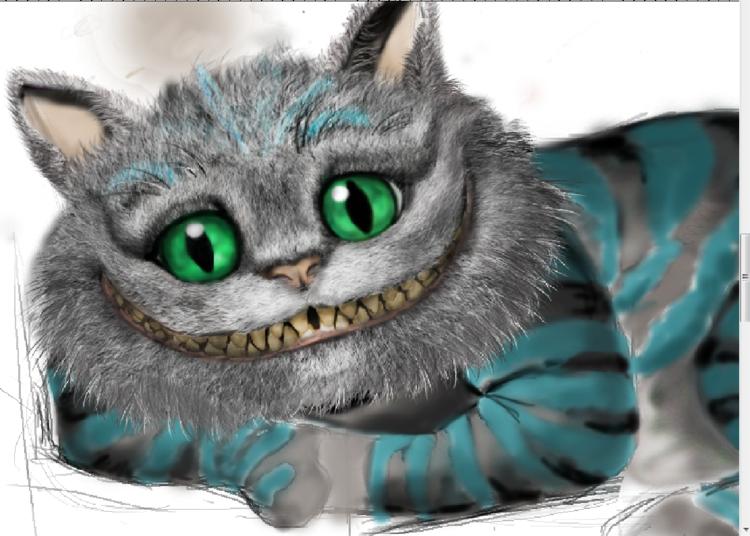 Чеширский кот только начала